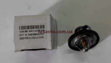 Термостат (вставка) Шевроле Ланос 1.5 (Chevrolet Lanos), Шевроле Авео 1.5 (Chevrolet Aveo), Дэу Нексия 1.5 (Daewoo Nexia) OEM