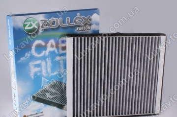 Фильтр салона Шевроле Авео 1.5 (Chevrolet Aveo) Zollex угольн.