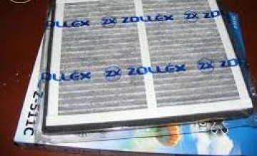 Фильтр салона Шевроле Лачетти 1.6-1.8 (Chevrolet Lacetti) Zollex угольн.