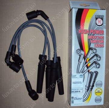 Провода высоковольтные Дэу Ланос 1.6 (Daewoo Lanos), Шевроле Авео 1.6 (Chevrolet Aveo), HORT