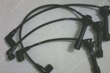 Провода высоковольтные, комплект (472, AT, красный наконечник) Chery QQ[S11, 1.1]