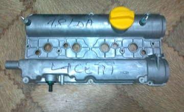 Крышка клапанов Шевроле Лачетти 1.8 LDA (Chevrolet Lacetti) GM алюмин.