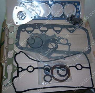 Комплект прокладок двигателя Дэу Ланос 1.6 (Daewoo Lanos), Дэу Нубира 1.6 (Daewoo Nubira) полный Autox