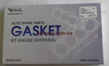 Прокладки двигателя Дэу Матиз (Daewoo Matiz) 0,8 Корея SHINKUM (полный набор)
