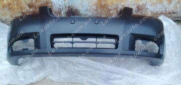 Бампер передний Шевроле Авео-3 (Chevrolet Aveo) (накладка) завод