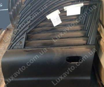 Дверь передняя левая Дэу Ланос (Daewoo Lanos) (грунт чёрная) АвтоЗАЗ