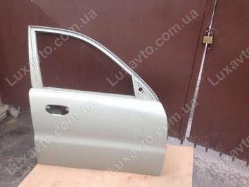 Дверь передняя правая Дэу Ланос (Daewoo Lanos) (оливковая) OE